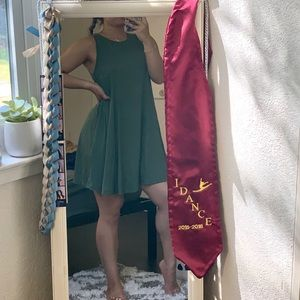 Green Flowy Summer Dress